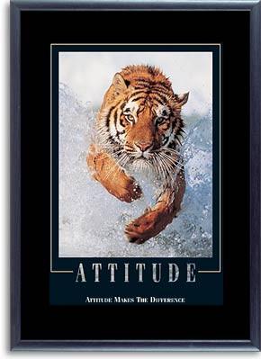 Motivational Framed Posters : Tiger Poster