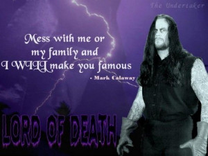 Dead Man - Undertaker Quotes