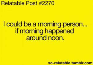 funny summer humor jokes joke relate morning relatable morning person