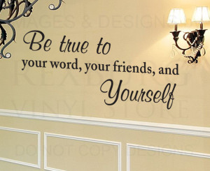 Details about Wall Decal Quote Sticker Vinyl Art Lettering Large Be ...
