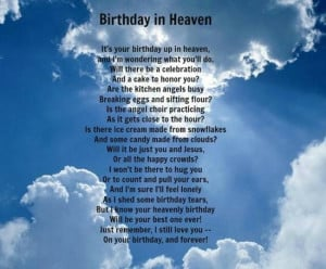 Posts related to happy birthday in heaven quotes brother