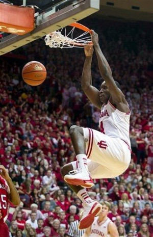 No. 1 Indiana holds off Nebraska 76-47. Indiana's Victor Oladipo (4 ...