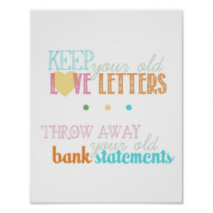 love letters quote - from