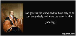 More John Jay Quotes