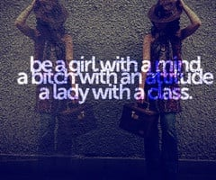 Attitude Quotes For Girls...