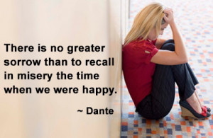 Sad people dislike the happy, and the happy the sad; the quick ...