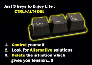 keyboard,anger quote,problem solution quote,tension,life management ...