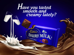 Awesome rapper of Dairy Milk chocolate with beautiful quotes