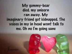 posted in gummy bears sayings tagged gummies gummy bear imaginary ...