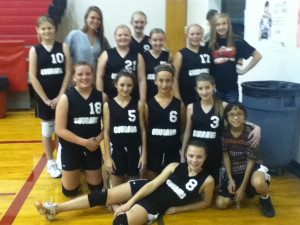 Last volleyball game for the year:)