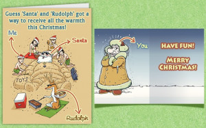 Funny christmas card greetings sayings - 3 PHOTO!
