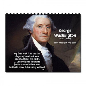 cafepress.comReagan on Limited Government Quotes Wall Calendar by