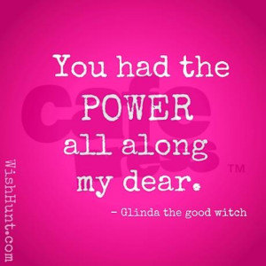 glinda the good witch quote necklaces jpg color Silver amp height 460