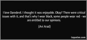 More Avi Arad Quotes