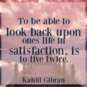 Uplifting Quote by Kahlil Gibran with Image !!