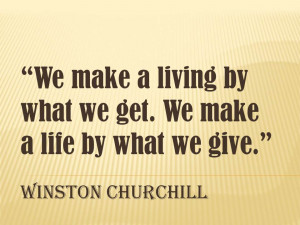 Building Relationships Quotes Business Quote from winston churchill