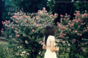 Twilight quote - Bella's character is extremely well written!