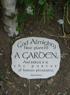 cool gardening quote. For the gardener who needs inspiring. Namely ...