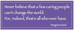 Citizenship Quotes For Students Margaret mead quote
