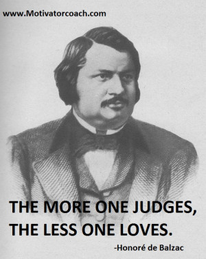 Honoré de Balzac Quotes