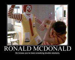 Funny Quotes Ronald Mcdonald Getting Arrested 500 X 412 45 Kb Jpeg