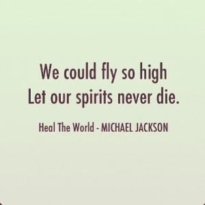 justgoodlyrics fly high text quote michaeljackson pop music spirit