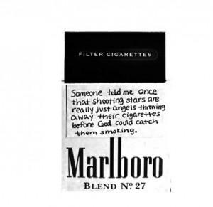 angels, bad, cigarettes, god, marlboro, quotes, shooting stars ...