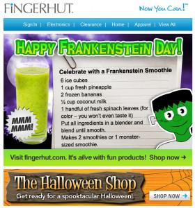 Celebration on National Frankenstein Day