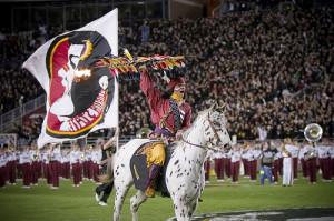 Mascot Monday: Chief Osceola and Renegade