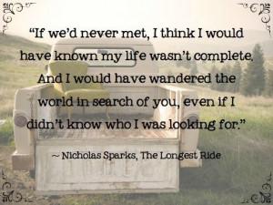 Nicholas Sparks | The Longest Ride