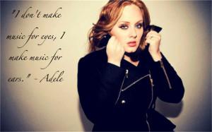 Adele Adele quote