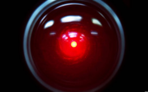 HAL 9000 Wallpaper, A HAL 9000 wallpaper from