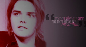 Gerard Way Quotes About Girls #4
