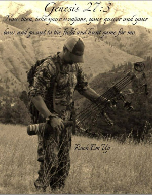 Hunting biblical quotes