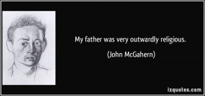 More John McGahern Quotes