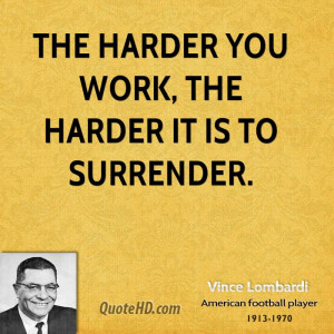 The life of the football coaching legend vince lombardi