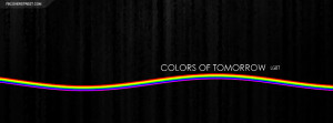 LGBT Colors of Tomorrow Facebook Cover