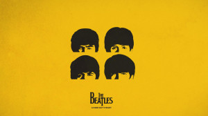 The Beatles Logo Background HD Wallpaper The Beatles Logo