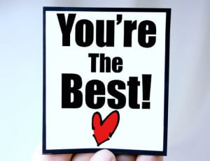 Thank You Youre The Best You're the best - mgt-mis107