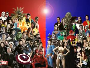 Marvel vs DC Comic Image