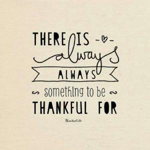 Thanksgiving week is upon us!