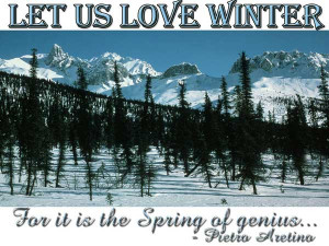 Winter Image Quotes And Sayings