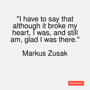 a summery of the novel the messenger by markus zusak I am the messenger by markus zusak plot summary:  some time ago, i picked  up the book thief with low expectations i thought it odd.