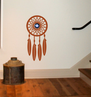 ... House & Home > Nest Thermostat Decals > NEST Dream Catcher Wall Decal