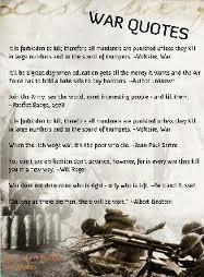 Anti War Quotes Best Quotesgram