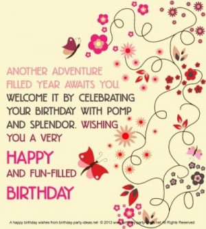 Birthday wishes quotes, awesome, sayings, deep