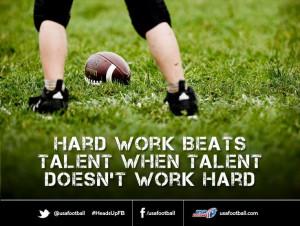 Youth football inspiration