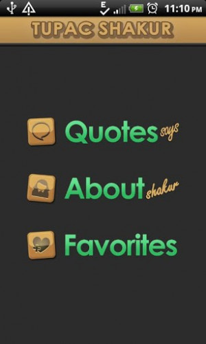 Tupac Shakur Quotes Says Android