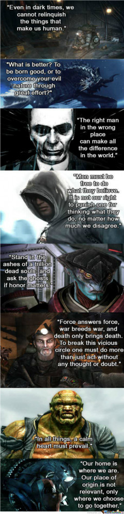 Awesome Video Game Quotes