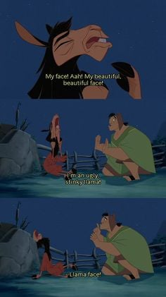 emperors new groove:) More